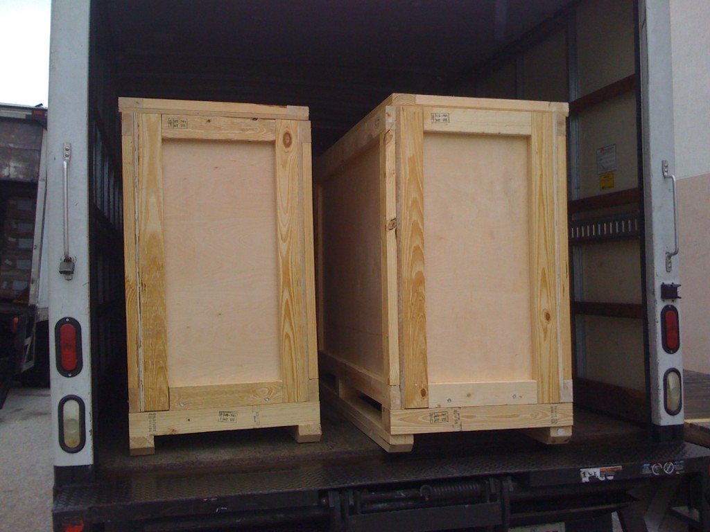 Custom Wooden Crates and Wooden Boxes - Packing Service Inc