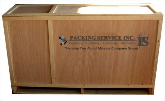 Packing Service Inc. Custom Crates, Wooden Crated and Wooden Boxes