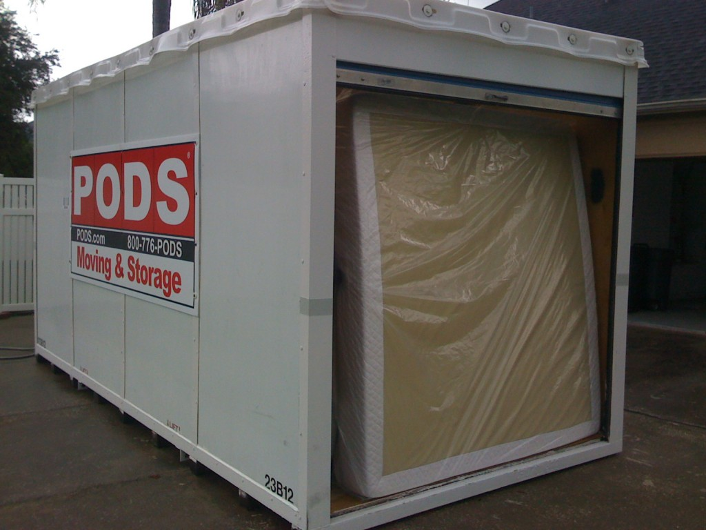 Loading Pods container