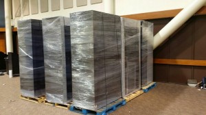 Shrink Wrap Palletizing- pack and load, pack and ship, packing company