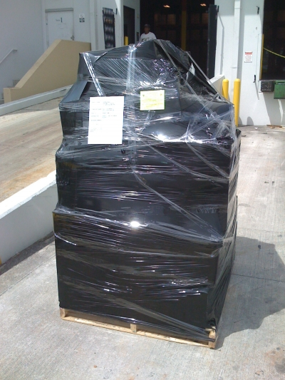 Packing Service, Inc. On-Site Shrink Wrap Palletizing (1)