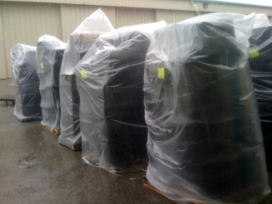 Packing Service, Inc. Shrink Wrap Palletizing (2)