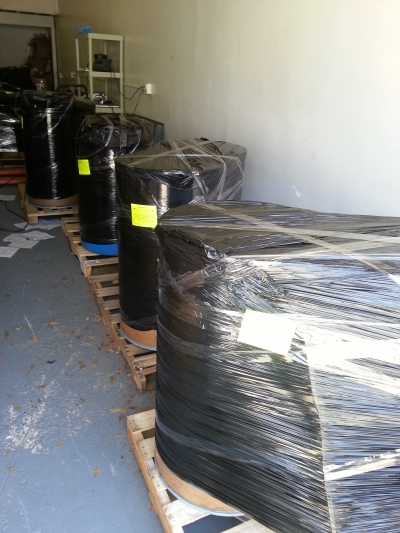 Shrink Wrapping Palletizing by Packing Service, Inc. 6