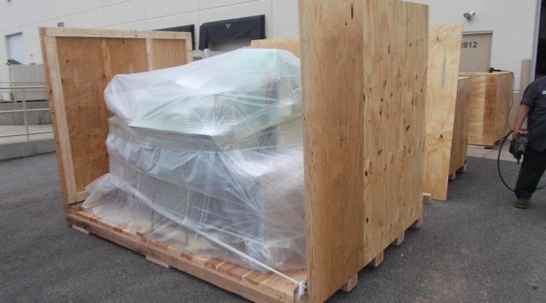 Packing Service, Inc. CUSTOM CRATES MRI INTERNATIONAL SHIPPING 6