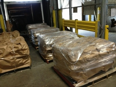 Packing Service, Inc. Palletizing expensive cases for domestic shipping (3)