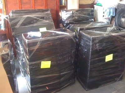 Packing Service, Inc. Packing Furniture and preparing for shipment 23