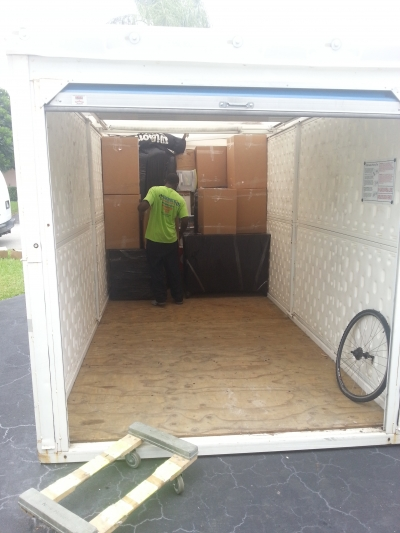 Packing and Loading Pods Containers by Packing Service, Inc. 1