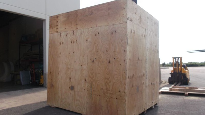 Packing Service, Inc. CUSTOM CRATES MRI INTERNATIONAL SHIPPING 14