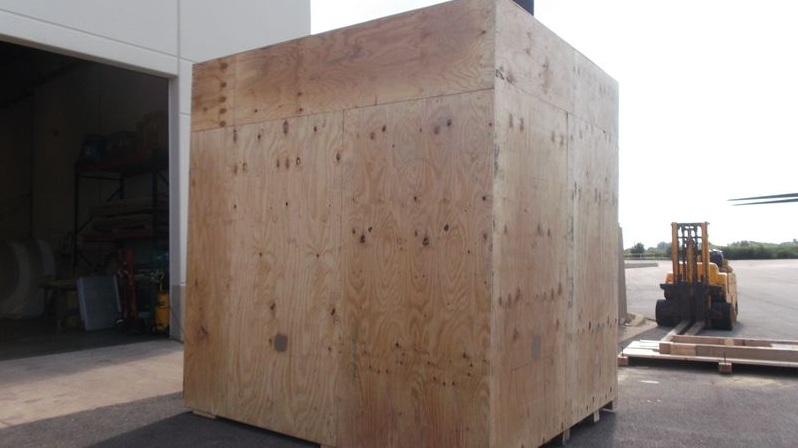Packing Service, Inc. CUSTOM CRATES MRI INTERNATIONAL SHIPPING 14