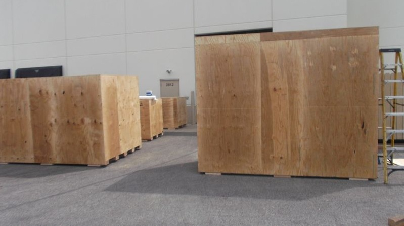 Packing Service, Inc. CUSTOM CRATES MRI INTERNATIONAL SHIPPING 15