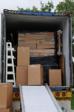 Packing and Loading International Containers by Packing Service, Inc. 8