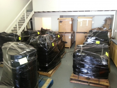 Shrink Wrapping Palletizing by Packing Service, Inc. 7