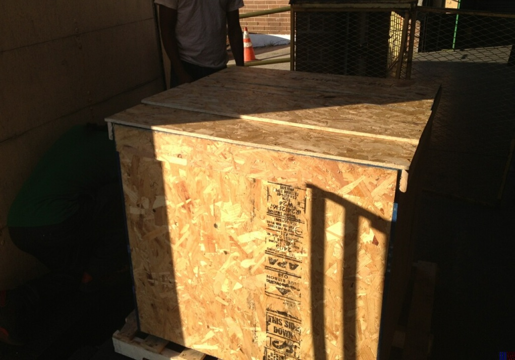 Packing Service, Inc. International custom crating for a chair - 3