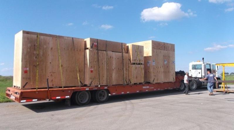 Packing Service, Inc. CUSTOM CRATES MRI INTERNATIONAL SHIPPING 18