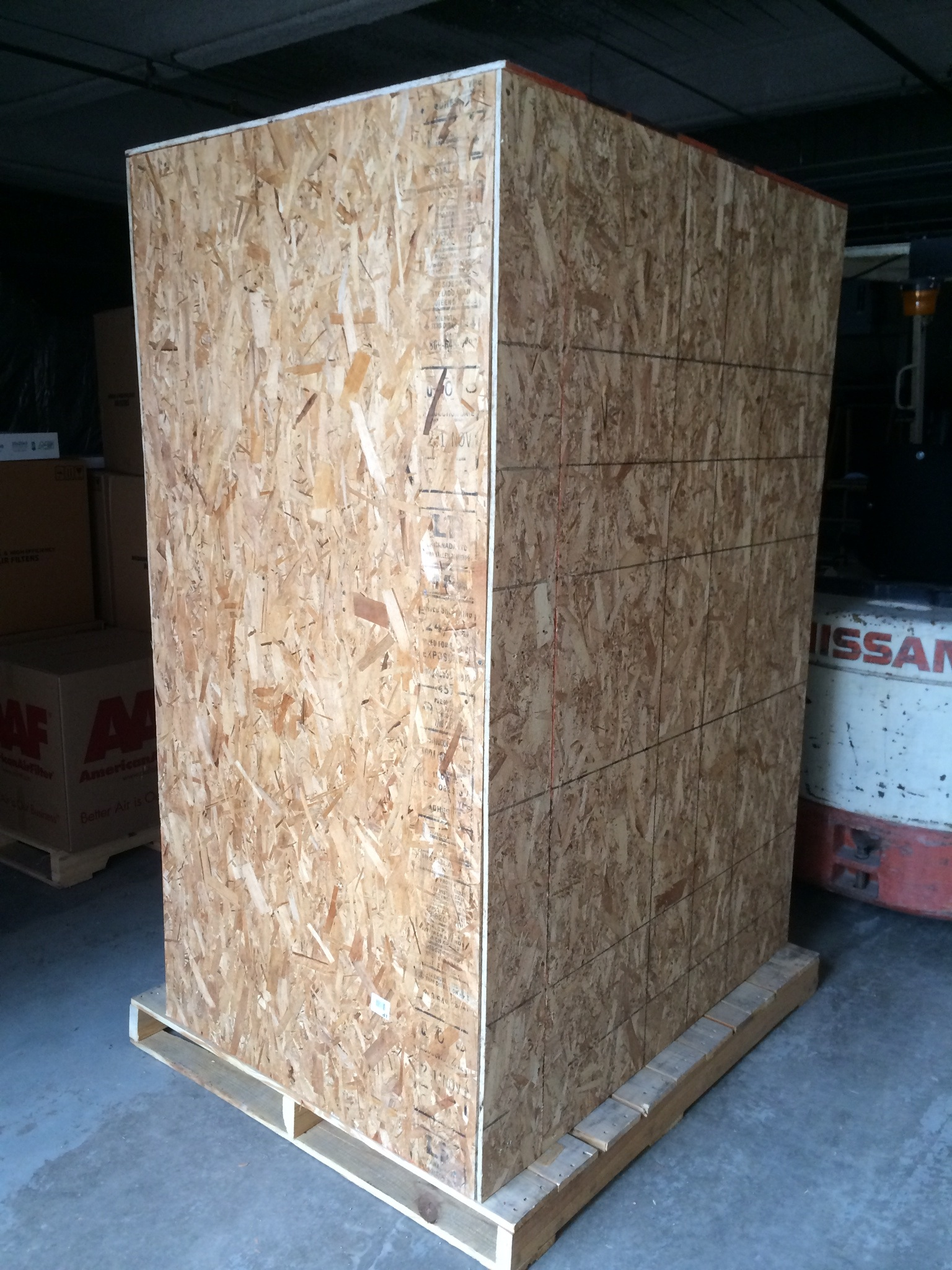 Packing Service, Inc. On-Site Custom Wooden Crates (5)