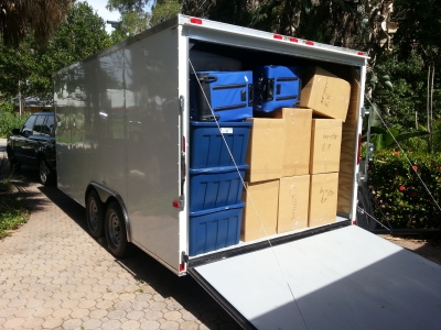 Packing Service, Inc. Packing and Loading 16 foot trailer 2