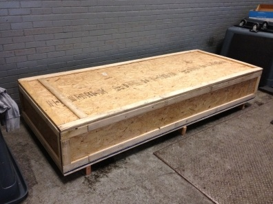 Packing Service, Inc. Computer Server been crated in New York, NY shiped overseas 4