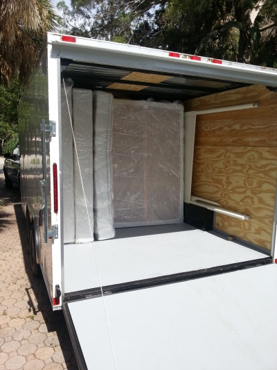 Packing Service, Inc. Packing and Loading 16 foot trailer 1