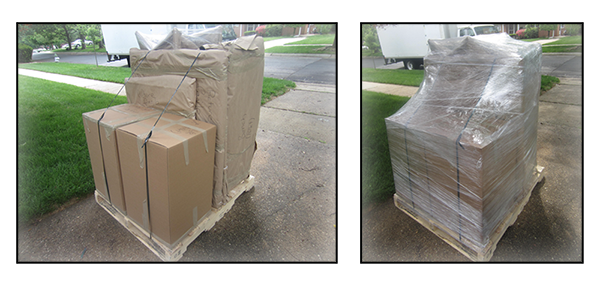 Palletization and Shrink Wrapping Services.