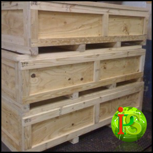 Hire us and we'll send our team of veteran Movers to come on-site and build Custom Wooden Crates for your fragile items.