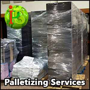 Our company can provide on-site Shrink Wrap Palletizing services nationwide with Guaranteed Flat Rate Quotes.