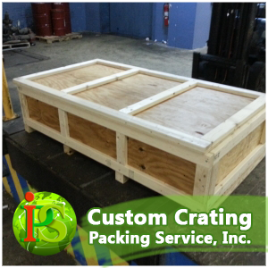 Our professional Custom Crating Services are performed on-site, at your location, anywhere nationwide.