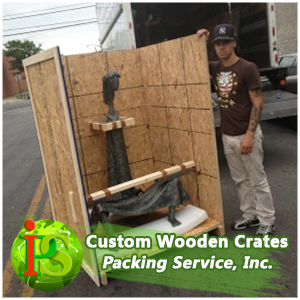 Our professionals are ready to go to your location and crate up any of you belongings. Whether it's delicate equipment, fragile artwork, over sized machinery, or antique furniture - our guys can handle it. Click on this to be taken to our pictures site.