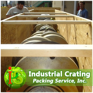Our crates are built with special heat treated wood made specifically for international shipping.