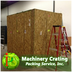 Our guys can crate over sized machinery on-site anywhere nationwide. We are industrial crating experts and are ready for jobs of any size, so pack and crate with the pros of Packing Service, Inc.