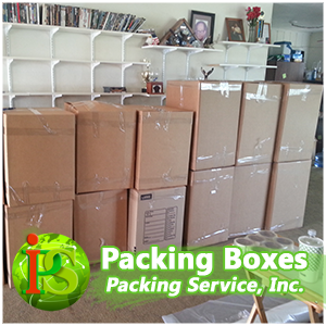 Packing and loading dozens of boxes can be quite a monumental task!