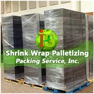 Our Palletizing Experts are ready to go on-site, to your location, and shrink wrap any items you need palletized.