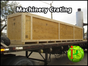 Custom Crating Services are performed on-site at your location.