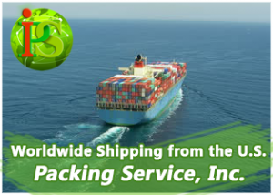 We offer worldwide Shipping from the United States with Guaranteed Flat Rate Quotes.