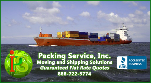 Professional Worldwide Shipping from the United States to any port in the world.