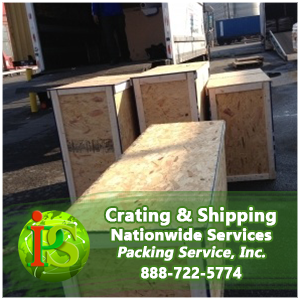 We can Crate and Ship your items to any port in the world.
