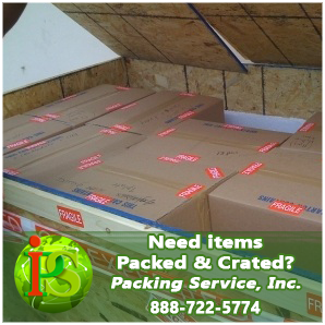 Our teams of professional Packers and Loaders are ready to Pack and Crate your items anywhere nationwide.