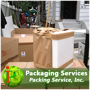 When Packing your items, our professionals use top quality materials to assure your items are safe and secure.