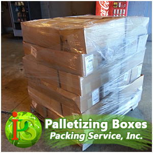 Our professionals are ready to provide you with On-Site Palletizing Services anywhere nationwide.
