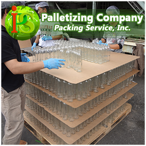 Our Shrink Wrap Palletization Services are always performed On-Site, at your location, anywhere nationwide.