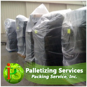 We have professionals across the nation ready to shrink wrap and palletize any of your items.
