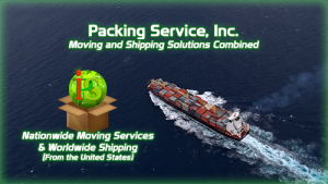 Shipping Services, Shipping Company, Crating and Shipping, Packing and Crating by Packing Service Inc