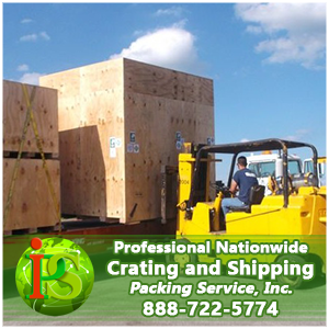 Crating and Shipping by Packing Service, Inc.