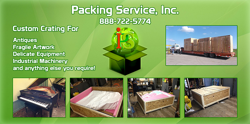 Custom Crating, Custom Crates, Wooden Crates, Crating and Shipping, Packing Service Inc