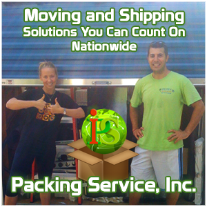Moving and Shipping Services by Packing Service, Inc.
