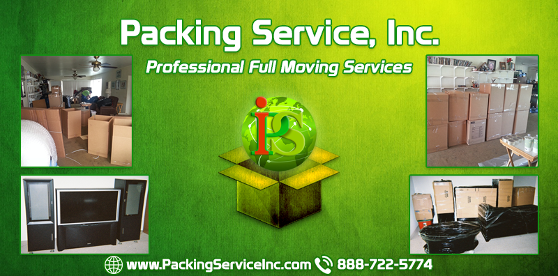 Professional Packing and Loading - Full Moving Services by Packing Service Inc