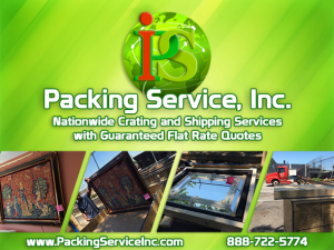Crating Services, Wooden Boxes, Crating and Shipping by Packing Service Inc