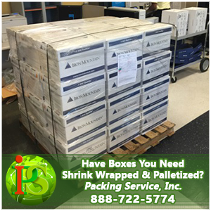 Shrink Wrap Palletizing Services by Packing Services, Inc. (9)