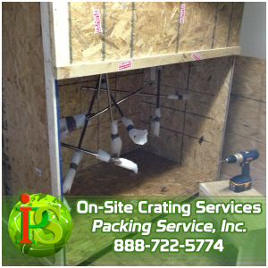Crating Services, Packing and Crating, Wooden Boxes by Packing Service Inc