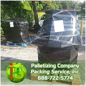 Palletizing Services, Packing and Palletizing by Packing Service Inc
