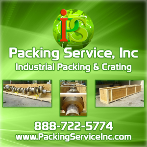 Industrial Crating, Custom Wooden Crates by Packing Service Inc